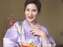 デ○ィ夫人似の妖艶五十路熟女が淫らに騎乗位セックス! 倉野美由紀