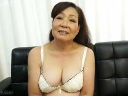古希を迎えてもちゃんとアソコは濡れてセックス出来るということを証明した七十路熟女 成田京子