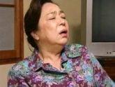 「接吻してぇ〜」六十路の高齢熟女が濃厚ファック! 三田涼子