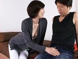 ふわっふわFカップ乳の46歳がズブリと挿し込まれ悶まくる! 竹内梨恵