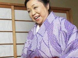 でっぷりと肥えた56歳着物の五十路おばさんと肉弾セックス! 大森節子