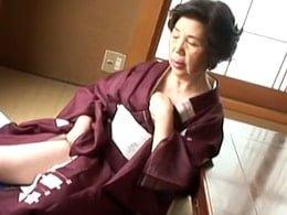 古希目前!68歳の高齢熟女が闇金業者の男に犯される! 坂本淑子