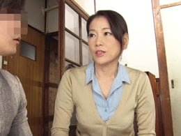 五十路母が思春期の息子に体を張ってセックス指南する 司杏子