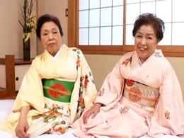 75歳と73歳の高齢お婆ちゃんの特濃レズプレイ! 黒崎礼子 石川三ツ江