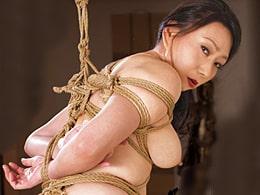 ドM熟女が緊縛拘束されイラマ&がっつり突かれて朦朧イキ! 夢華さら
